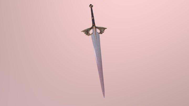 Lotus Sword 3D Model