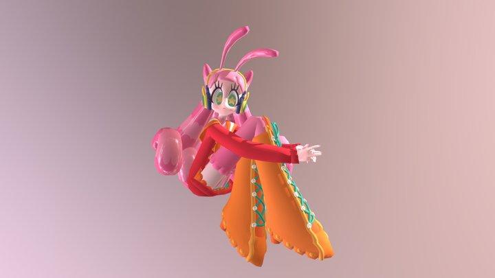 Alien Pop II Snailien 3D Model