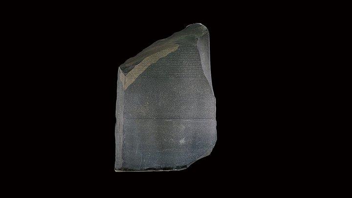 The Rosetta Stone 3D Model