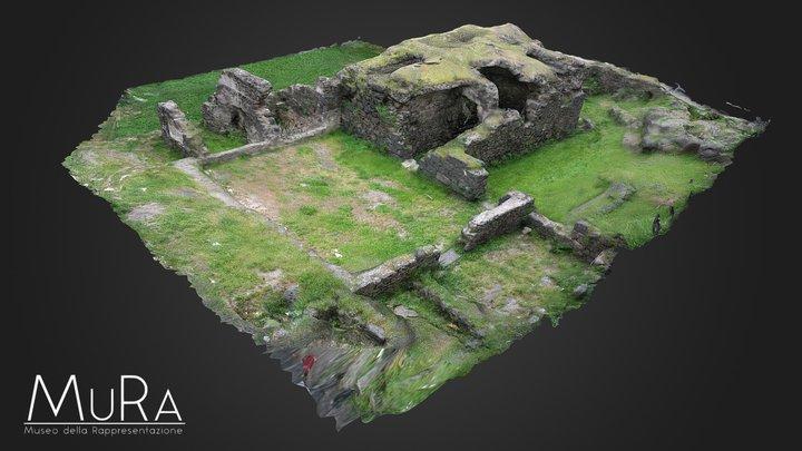 Terme Romane, Misterbianco, Catania 3D Model