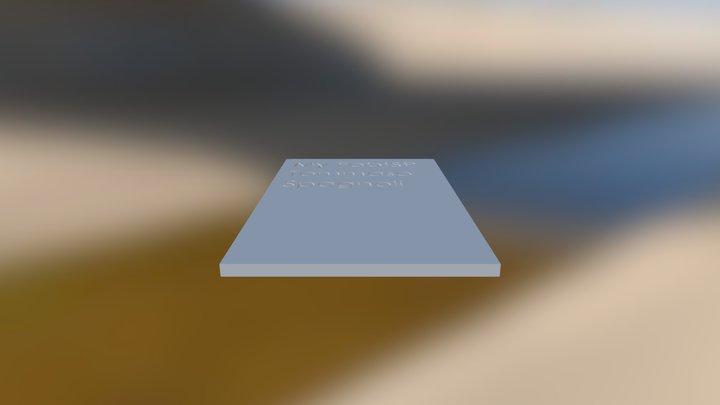 Keepcasetop 3D Model