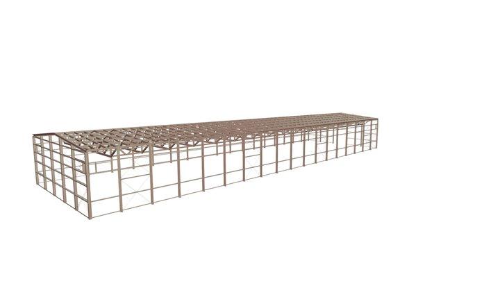 00874 Склад Warehouse 3D Model