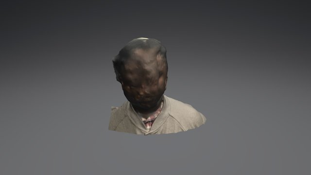 Photogrammétries-buste d'un person 3D Model
