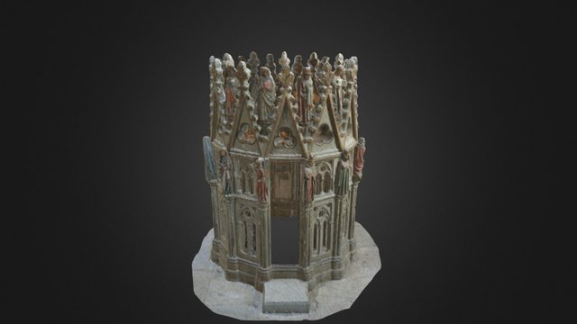 Mauritiusrotunde in Konstanz Cathedral 3D Model