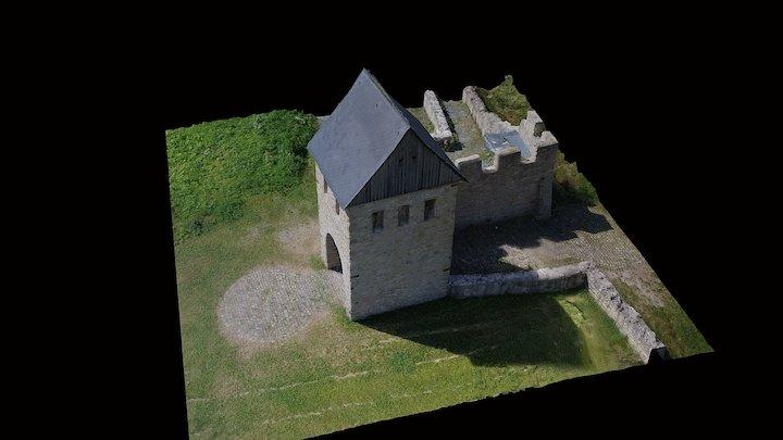 Werla Turm 3D Model