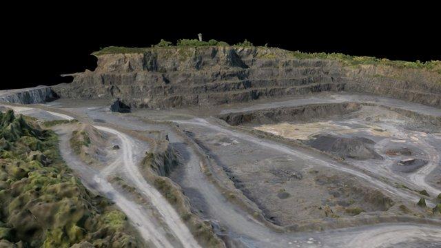Roadstone Quarry - Allenwood - 3D Mesh 3D Model