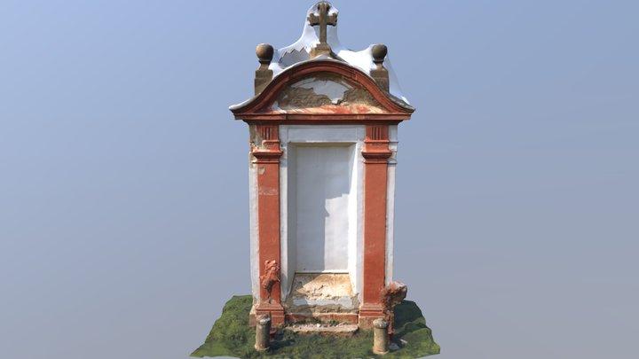 19th chapel of Pilgrim trail to Hájek 3D Model