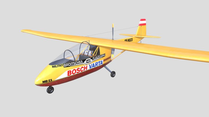 Brditschka MB-E1 3D Model