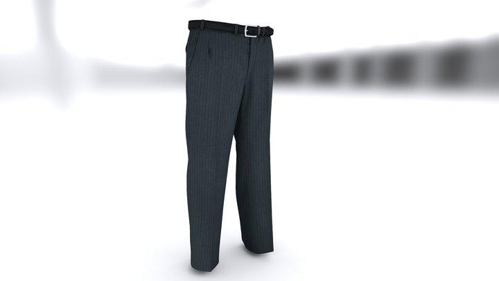 Suit - pants 3D Model