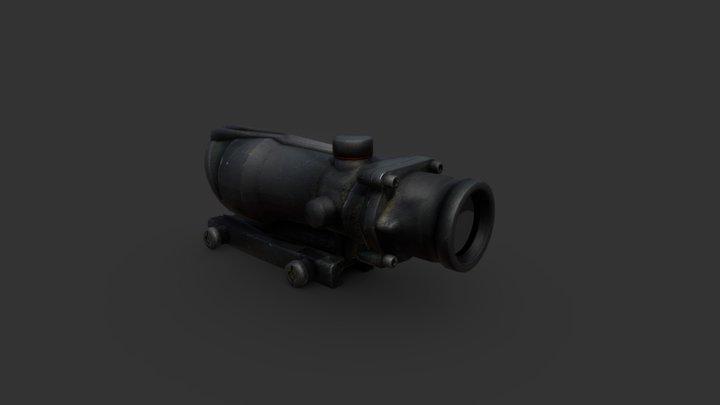 Ống ngắm ACOG 3D Model