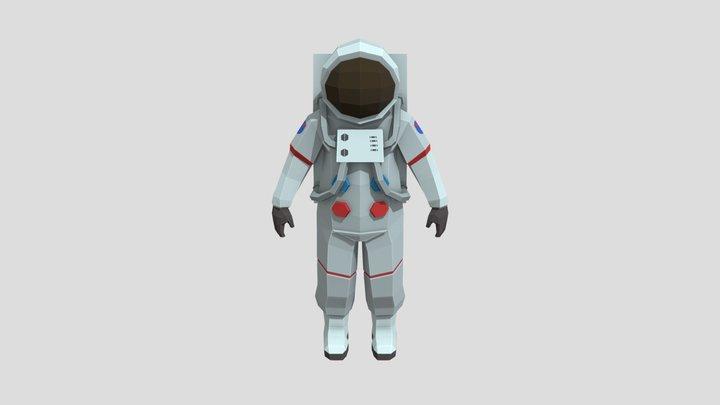 Astronaut - Low Poly 3D Model