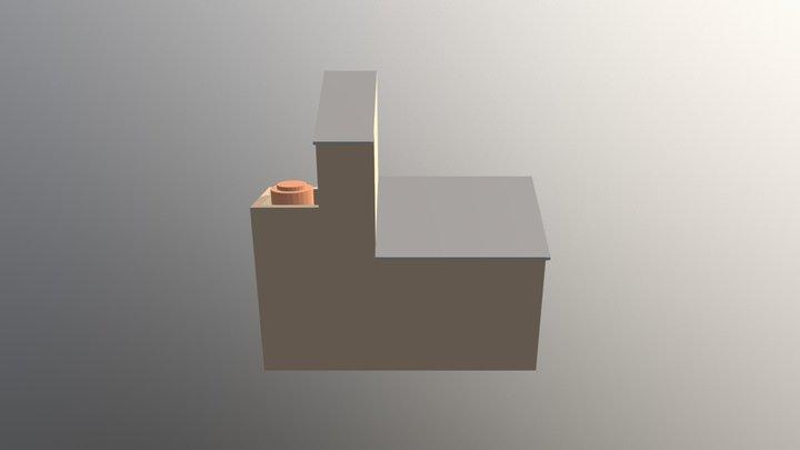 Draft Atap Torn SCP Bpk. Inggar 3D Model