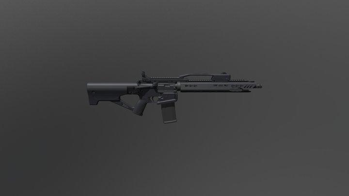 AR Blastar 3D Model