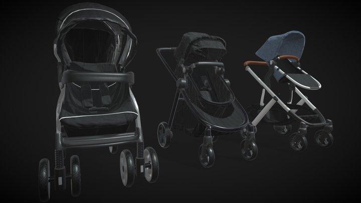 Strollers 3D Model