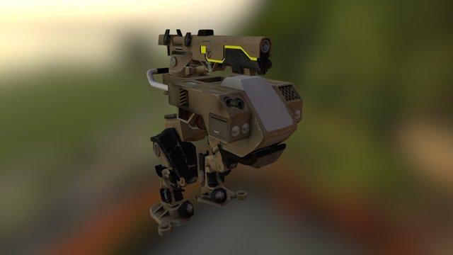 Yeager Mech 3D Model