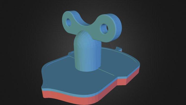 acorn_handle3 3D Model