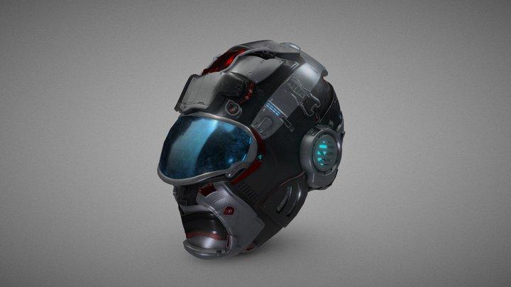 Berserk Helmet 3D Model