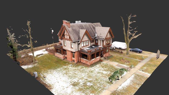 Sauk Historical Museum - 3d model 3D Model