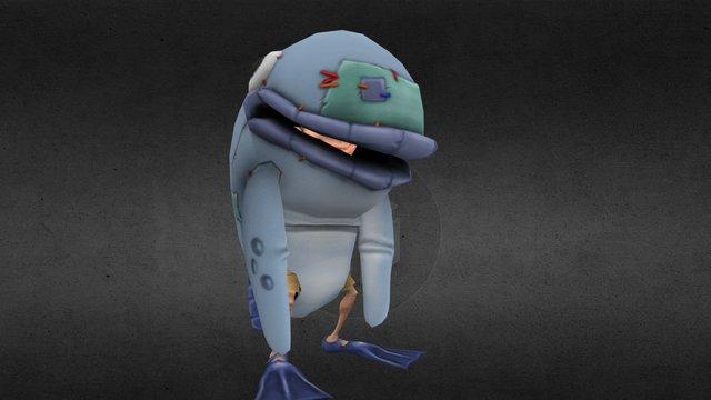 JB Cod suit (Crazy Pirate Slots 2) 3D Model