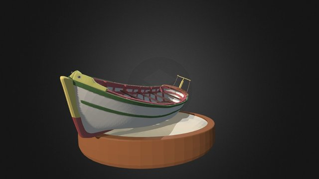 Bote Coquimbo 3D Model