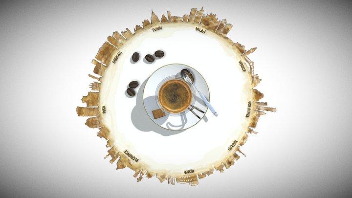 Italian Coffee Tour 3D Model