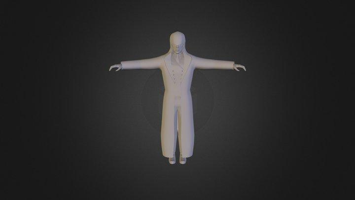 Victorian Assassin MkI. 3D Model