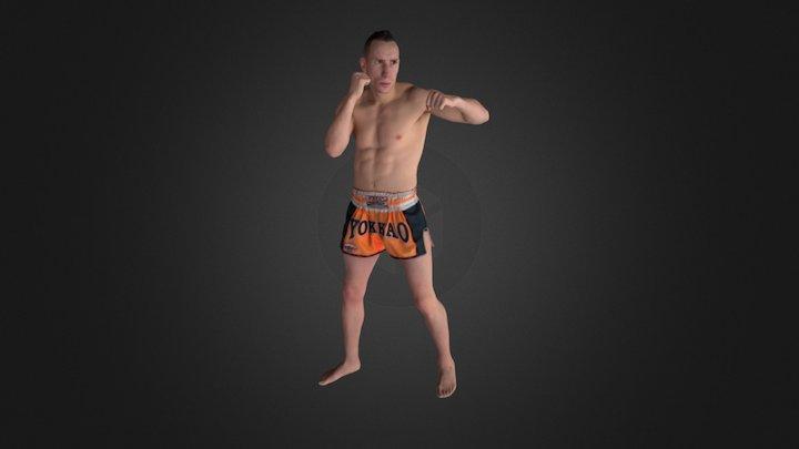 Sergio Sanchez 3D Model
