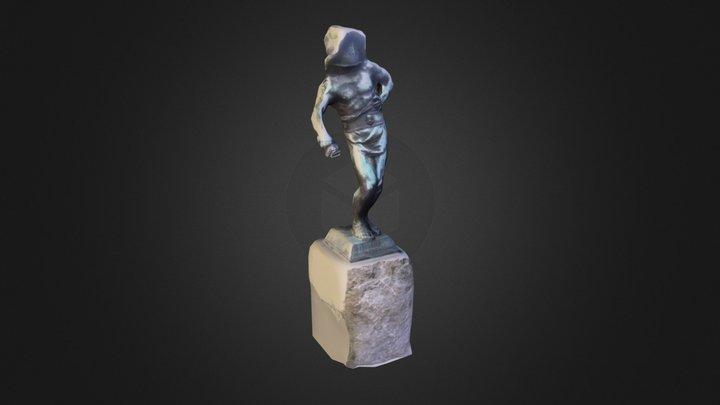 De Stervende Gladiator 3D Model