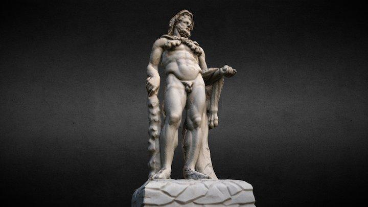 Sculpture of Hercules for Metateca Project 3D Model