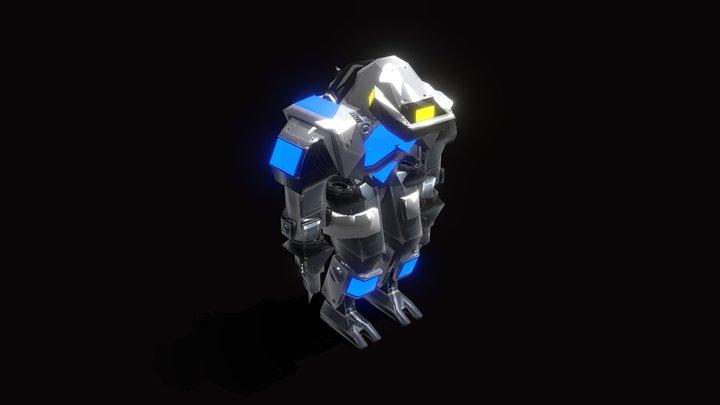 BLUE | Maverick 3D Model