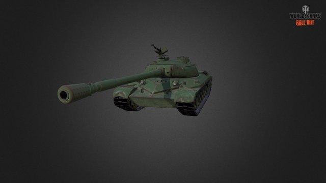 WZ-111 3D Model