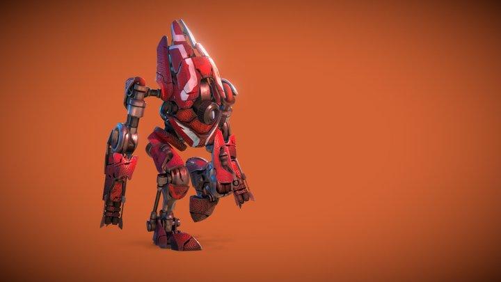 Ocrane[16] 3D Model