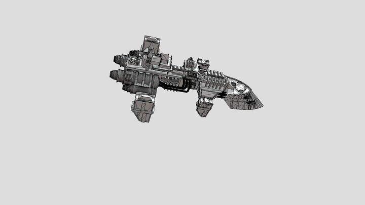 Cobra-class Destroyer 3D Model