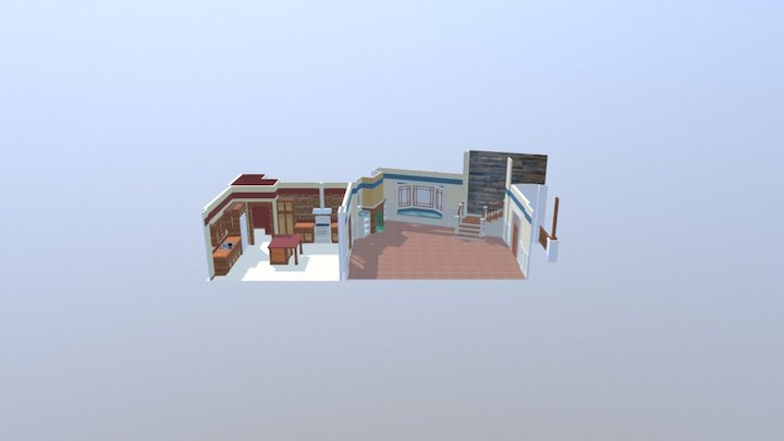 CFL House 3D Model