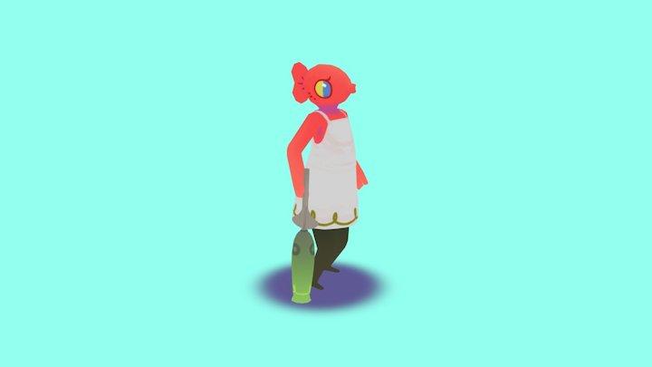 Hina 3D Model