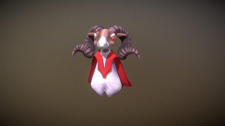 Aries | Anger 3D Model