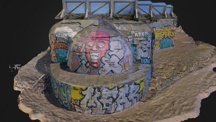 anglet Bunker 3D Model
