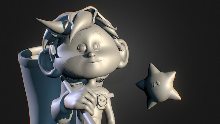 The Starcatcher 3D Model