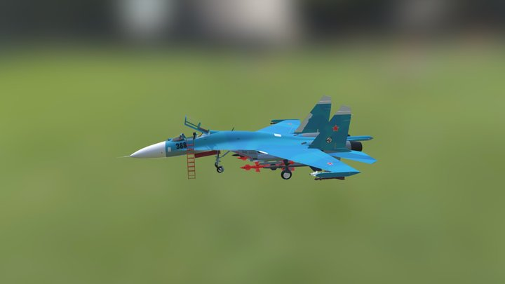 Su27 3D Model