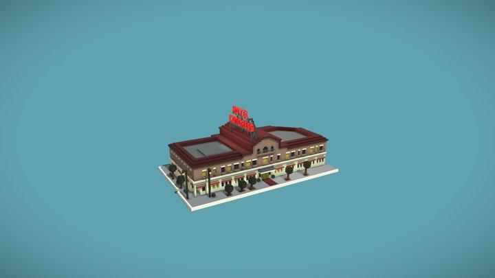 Hotel Congress 3D Model