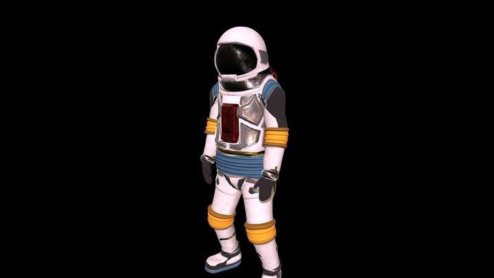 Astro13_Jump 3D Model