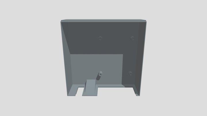Pi Cube (Bottom) 3D Model