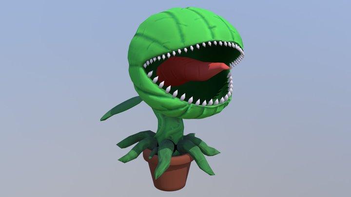 Monster Plant 3D Model