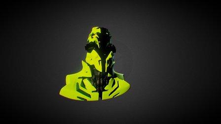 Rbotot Head 3d Coat 3D Model