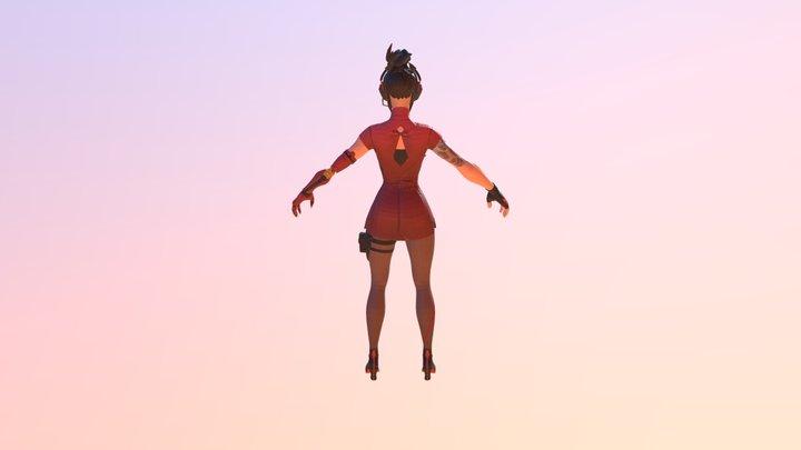 Scarlet 3D Model