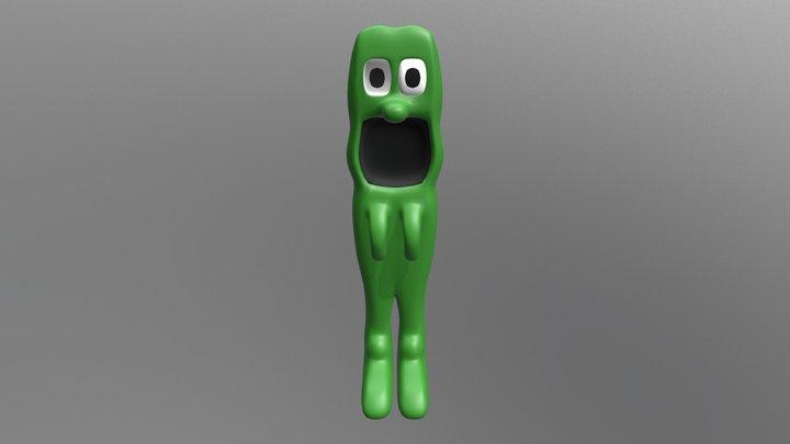 Pizza Man 3D Model