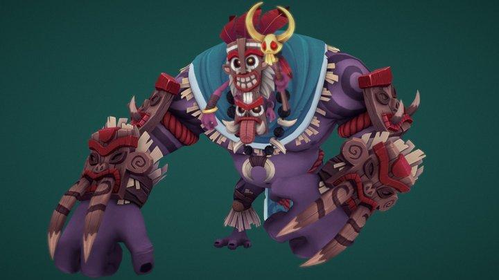 GrimRog Fan Concept 3D Model