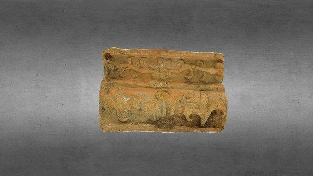 Stove tile. Кахля. XVII - XVIII ст. Київ. 3D Model