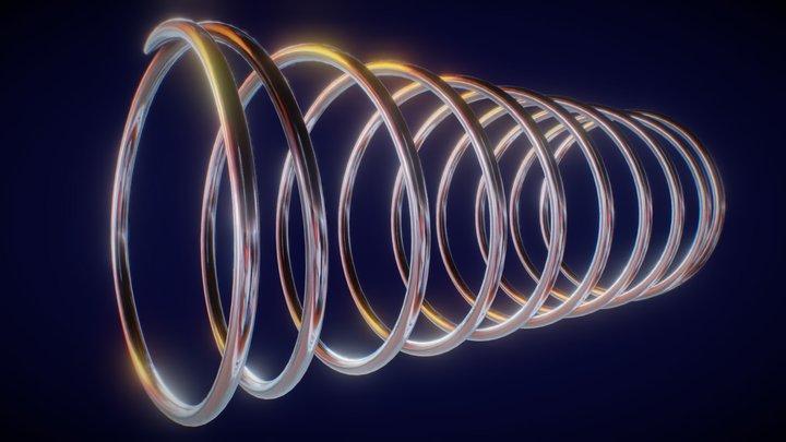Spiral / Spring 3D Model