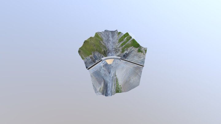 Gallery on km339+210 of Jalalabad - Balykchy, KG 3D Model